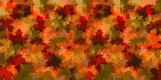 Conjunto da queda de ilustração das folhas Fotografia de Stock