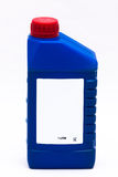 Conjunto de 1 litro del frente del petróleo Fotografía de archivo libre de regalías