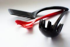 Conjunto de accesorios de la cocina Imagen de archivo libre de regalías
