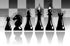 Conjunto de ajedrez Fotos de archivo