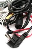 Conjunto de alambres a las técnicas de ordenador Imagenes de archivo