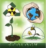 Conjunto de ambiental Stock de ilustración