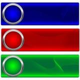 Conjunto de banderas. Imagenes de archivo