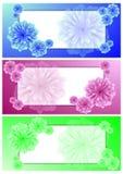 Conjunto de banderas horizontales del vector Imagen de archivo libre de regalías