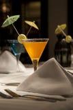Conjunto de bebidas de la limonada Imagen de archivo