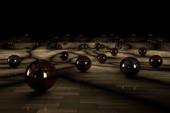 Conjunto de bolas Imágenes de archivo libres de regalías