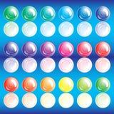 Conjunto de botones. Fotografía de archivo libre de regalías