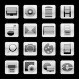conjunto de botones stock de ilustración