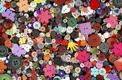 Conjunto de botones coloridos Imágenes de archivo libres de regalías
