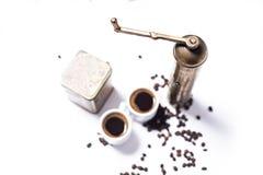 Conjunto de café turco Foto de archivo libre de regalías