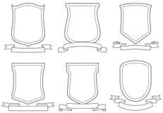 Conjunto de capas del vector de brazos stock de ilustración