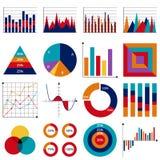 Conjunto de cartas de asunto del vector stock de ilustración