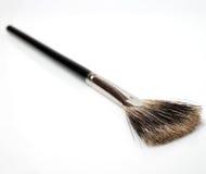 Conjunto de cepillos del maquillaje aislados Fotos de archivo