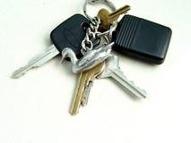 Conjunto de claves Foto de archivo libre de regalías