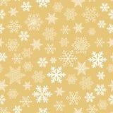 Conjunto de copos de nieve del vector Fotografía de archivo libre de regalías