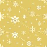 Conjunto de copos de nieve del vector Foto de archivo libre de regalías
