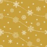 Conjunto de copos de nieve del vector Foto de archivo