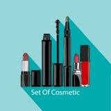 Conjunto de cosméticos Imagen de archivo