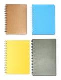 Conjunto de cuadernos Foto de archivo libre de regalías