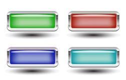 Conjunto de cuatro botones
