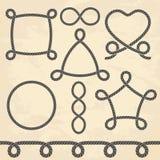 Conjunto de cuerdas Imagen de archivo libre de regalías