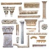 Conjunto de detalles de la configuración Imagen de archivo libre de regalías