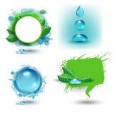 Conjunto de Eco ilustración del vector