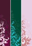 Conjunto de elementos abstractos del diseño. Ilustración del Vector