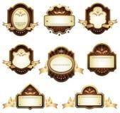 Conjunto de elementos del diseño Imagen de archivo