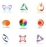 Conjunto de elementos del diseño. Imagenes de archivo