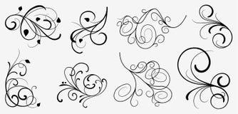 Conjunto de elementos del diseño ilustración del vector