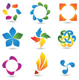 Conjunto de elementos del diseño #4 Imagen de archivo libre de regalías