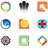 Conjunto de elementos del diseño #5 Foto de archivo libre de regalías