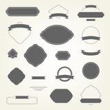 Conjunto de elementos del diseño Foto de archivo