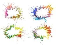 Conjunto de elementos del diseño Imágenes de archivo libres de regalías