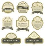 Conjunto de elementos del diseño Fotografía de archivo libre de regalías