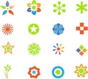 Conjunto de elementos del diseño Foto de archivo libre de regalías