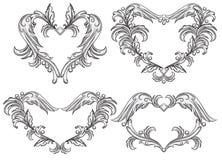 Conjunto de elementos del diseño del desfile. Imagenes de archivo