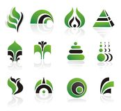 Conjunto de elementos del diseño del vector Fotos de archivo libres de regalías