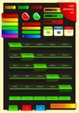 Conjunto de elementos del Web libre illustration
