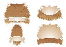 Conjunto de etiquetas engomadas de la etiqueta. ilustración del vector