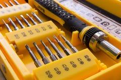 Conjunto de ferramentas mecânico do bocado Imagens de Stock Royalty Free
