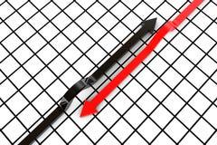 Conjunto de flechas Imagen de archivo