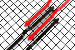 Conjunto de flechas Imagen de archivo libre de regalías