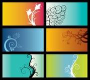 Conjunto de fondos abstractos ilustración del vector
