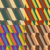 Conjunto de fondos coloreados Fotos de archivo libres de regalías