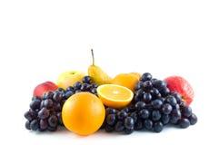 Conjunto de fruta fotos de archivo