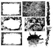 Conjunto de Grunge Fotos de archivo libres de regalías