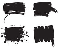 Conjunto de Grunge. Vector. ilustración del vector