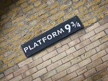 Conjunto de Harry Potter Fotos de archivo libres de regalías